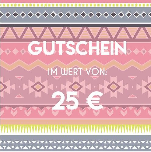 VOUCHER 25 €