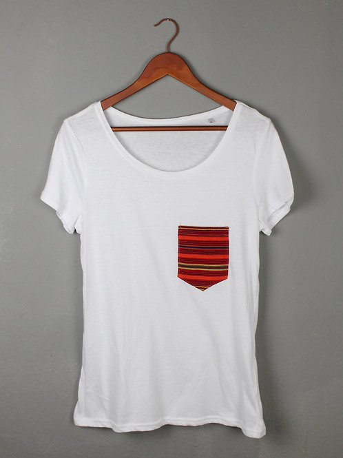Shirt Lowcut ROJO