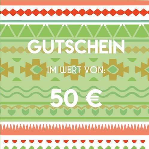 VOUCHER 50 €