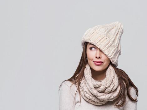Protéger la peau sensible du froid en hiver