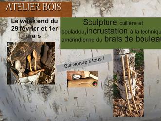 Atelier travail du bois!