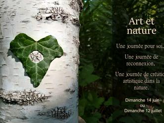 12 juillet Art et nature