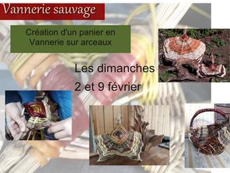 Vannerie sauvage: Atelier de création d'un panier de courses!