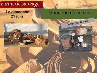 21 juin: Les écorces, le cuir végétal