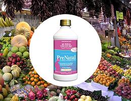 Buried Treasure Prenatal Plus DHA Complete High Potency Liquid Supplement