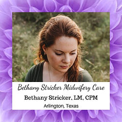 Bethany Stricker Midwifery Care
