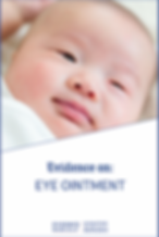 Evidence on Eye Ointment