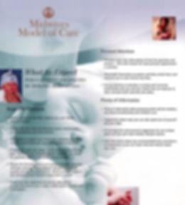 Midwifery Model of Care Brochure 2