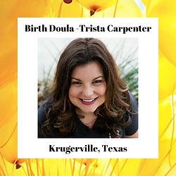 Birth Doula - Trista Carpenter