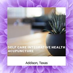 Self Care Integrative Health Acupuncture