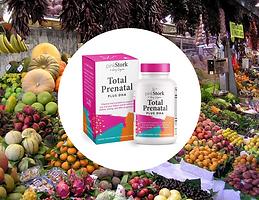 PinkStork Total Prenatal Plus DHA