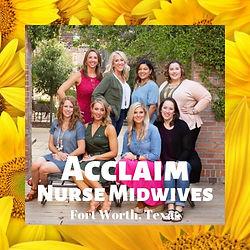 Acclaim Nurse Midwives