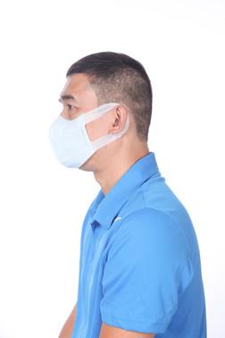 3D Shape Disposable Face Mask XL
