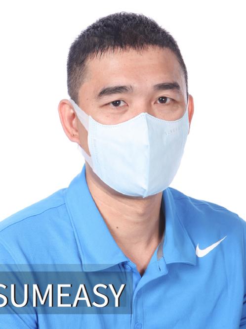 順易利3D立體口罩50入-成人XL藍色