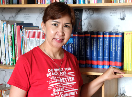 New board member for BOOKBRIDGE Mongolia