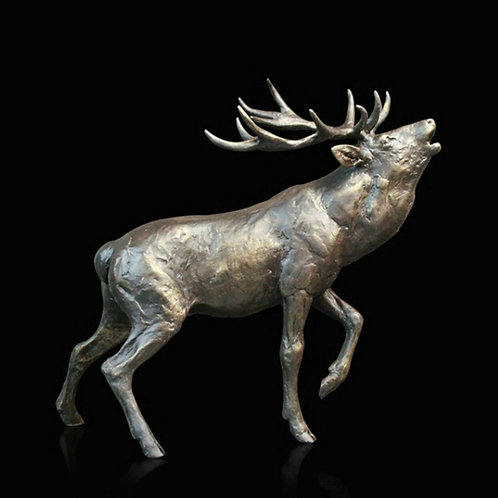 Stag Roaring by Michael Simpson