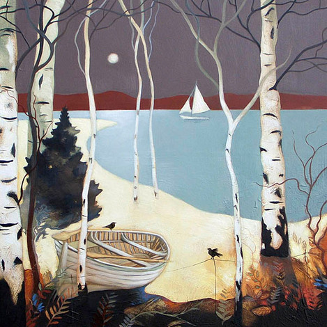"""Lochside"" by Lesley McLaren"