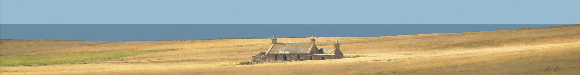 Deserted Croft, Orkney