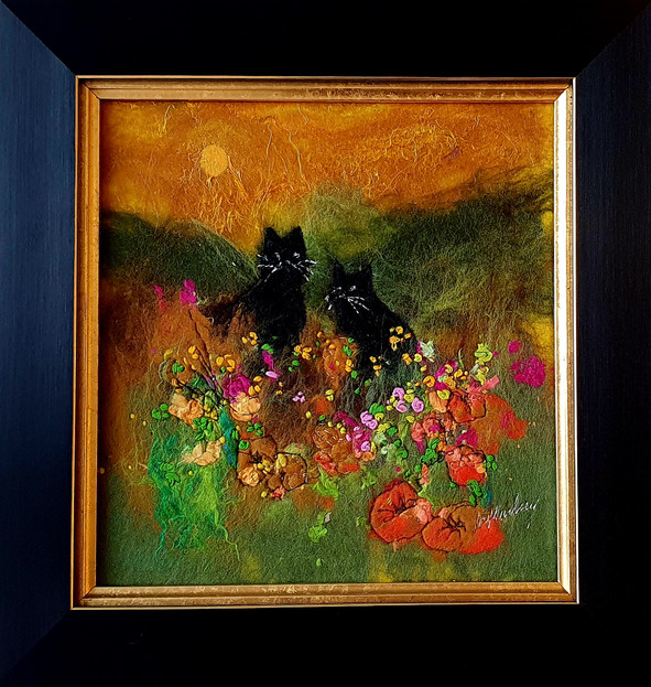Black Cats and Welsh Poppies