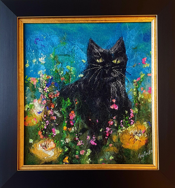 Black Cats and Buttercups