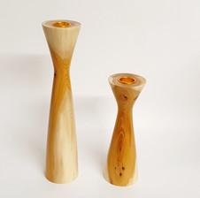 Yew Candlesticks
