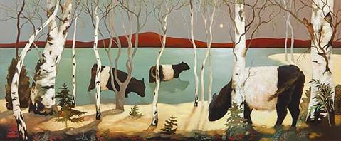 """Bathing Belties"" by Lesley McLaren"