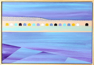 18 huts, Coldingham - Jill MacLeod - The