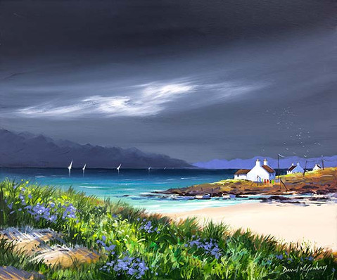 """""""White Cottages"""" by David M. Graham"""