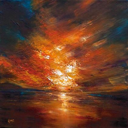 """""""Sunset Light over Skye"""" by Grace Cameron"""