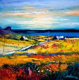 """Autumn Light at Kilchattan, Isle of Colonsay"" by John Lowrie Morrison"