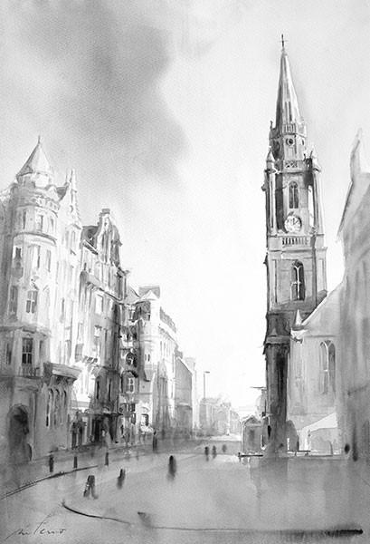 """The Royal Mile"" by Ismael Pinteño"
