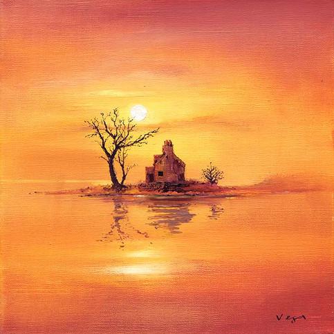 """Sunset's Silhouette"" by Vega"
