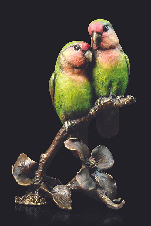 Lovebirds by Keith Sherwin