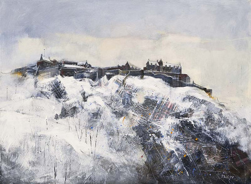 """Edinburgh Castle"" by Amanda Phillips"