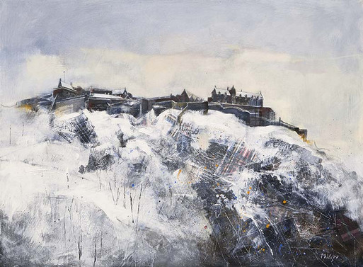 """Edinburgh Castle"" by Amanda Phillips"