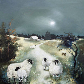 """Blackies in the Evening Light"" by Lesley McLaren."