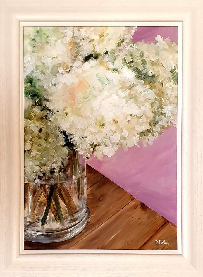 Hydrangeas on Lilac