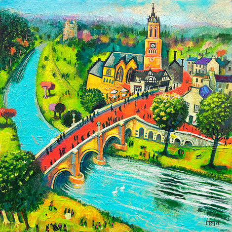 """Tweed Bridge, Peebles"" by Rob Hain"