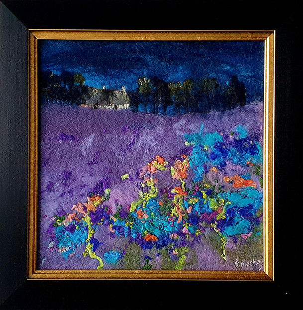 Purple Meadow - Moy Mackay - The Gallery