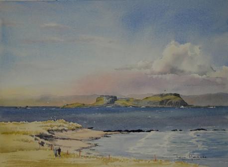 Fidra from North Berwick