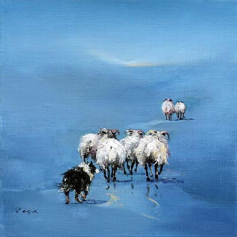 """""""Dreich Blue Day"""" by Vega"""