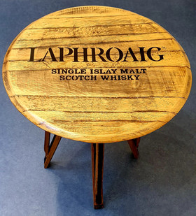 Whisky Barrel Table