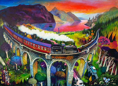 """Magical Glenfinnan"" by Rob Hain"