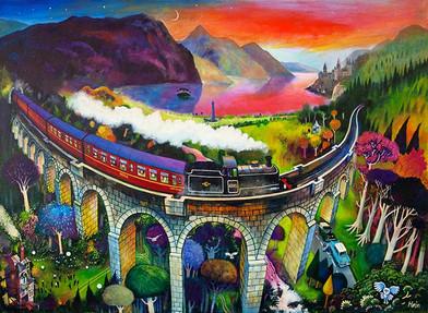 """""""Magical Glenfinnan"""" by Rob Hain"""