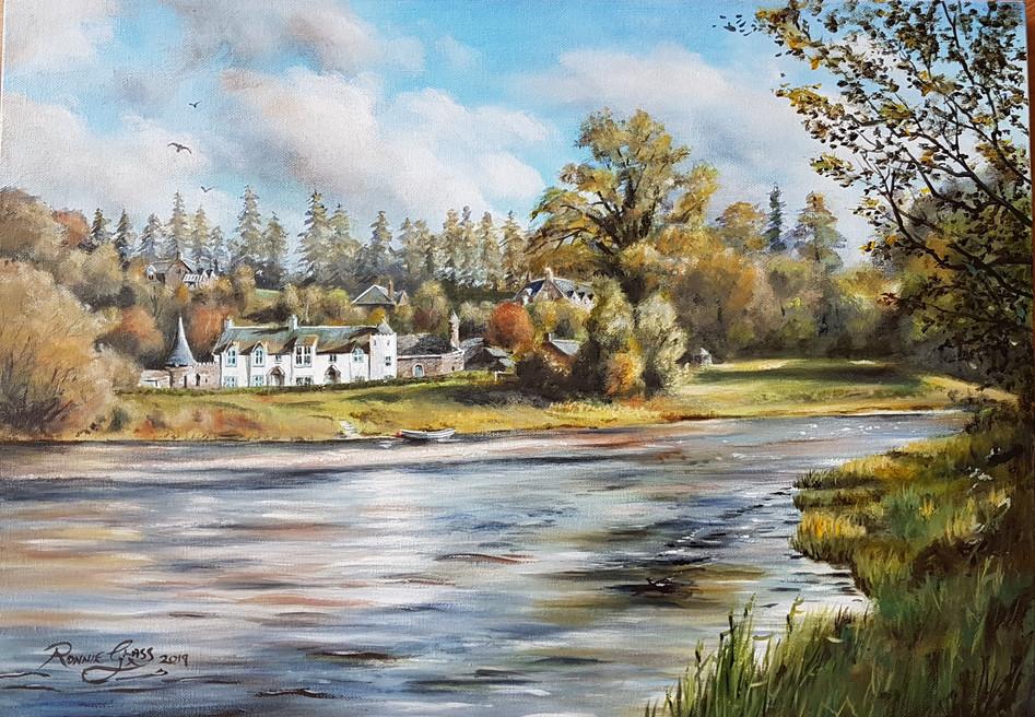 River Tweed at Dryburgh