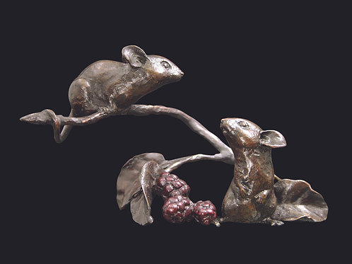 Mice with Berries by Michael Simpson