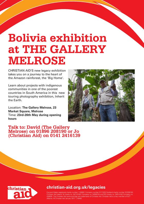 Our Bolivia Exhibition 23 - 26th May