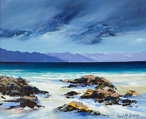"""""""Towards the Cuillins"""" by David M. Graham"""