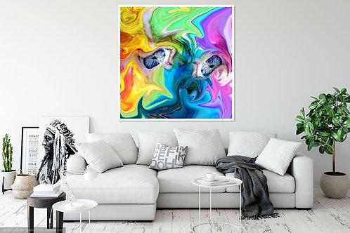 Neon Rainbow Eyes