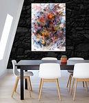 Copy of Ludo- Multi Colored White Abstra